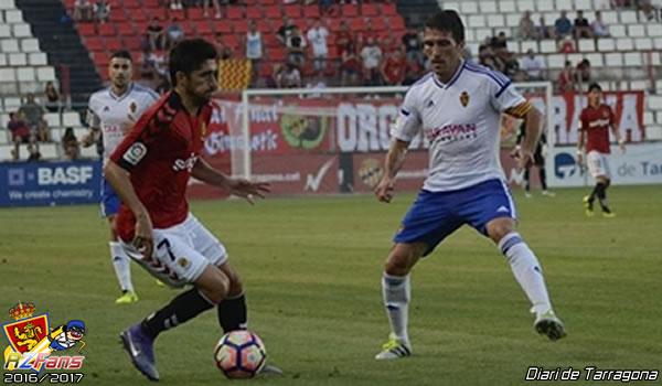 Nastic y el Real Zaragoza empatatan a cero en el amistoso de pretemporada